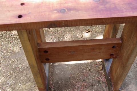 Peachy Outdoor Workbench Part 4 Wood Movement Toolmaking Art Ncnpc Chair Design For Home Ncnpcorg